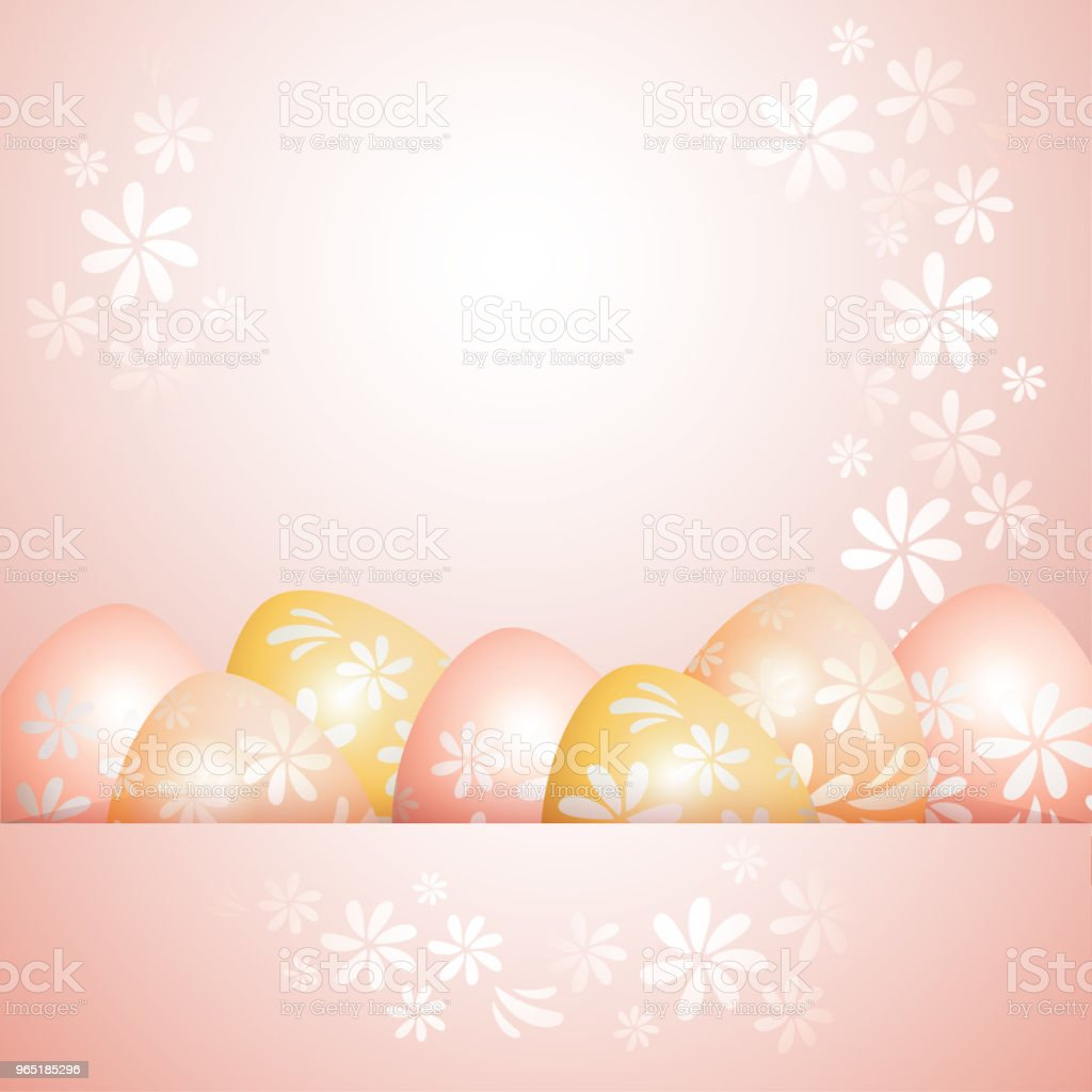 Easter decoration royalty-free easter decoration stock illustration - download image now