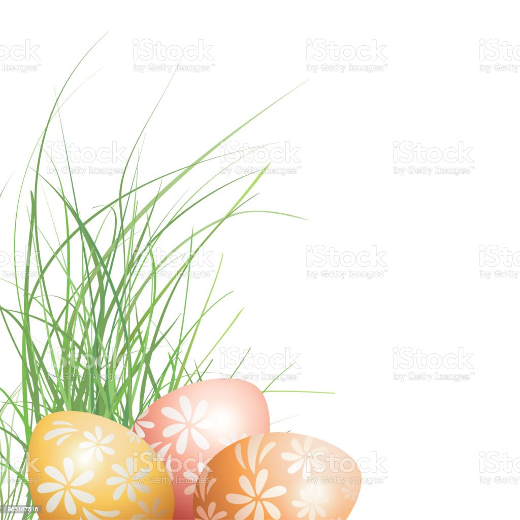 Easter decoration royalty-free easter decoration stock vector art & more images of abstract