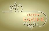 Easter design background.