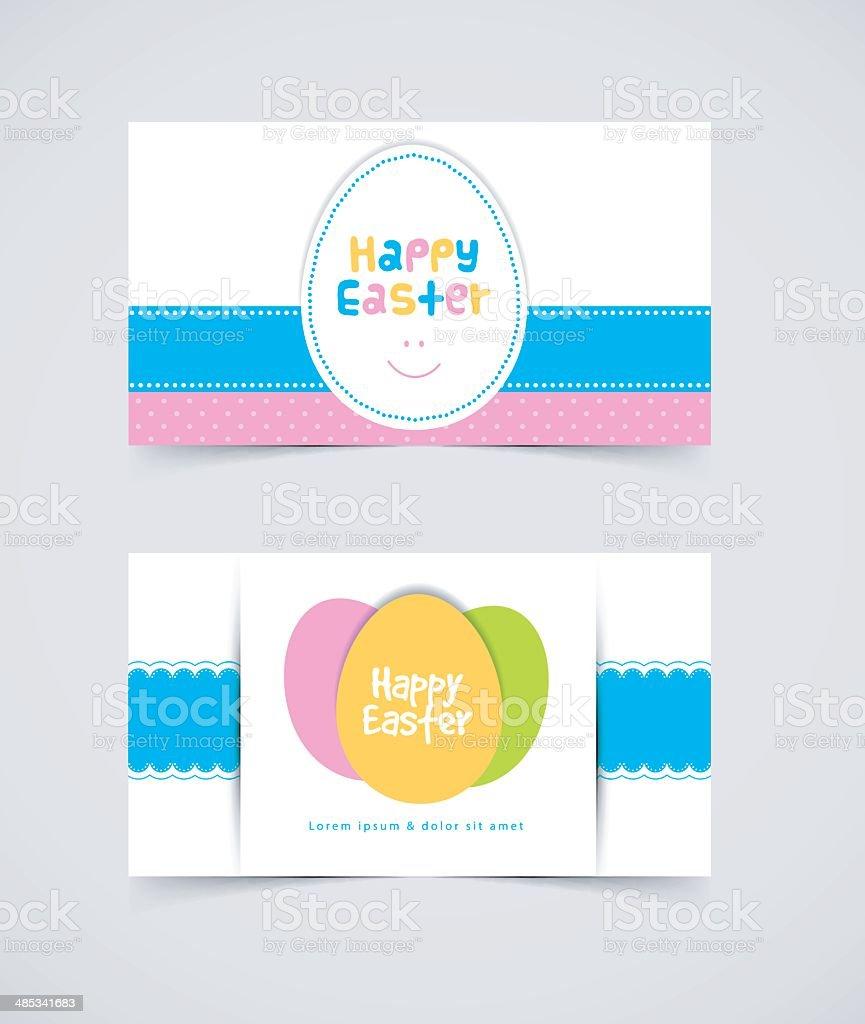 Easter design template royalty-free stock vector art