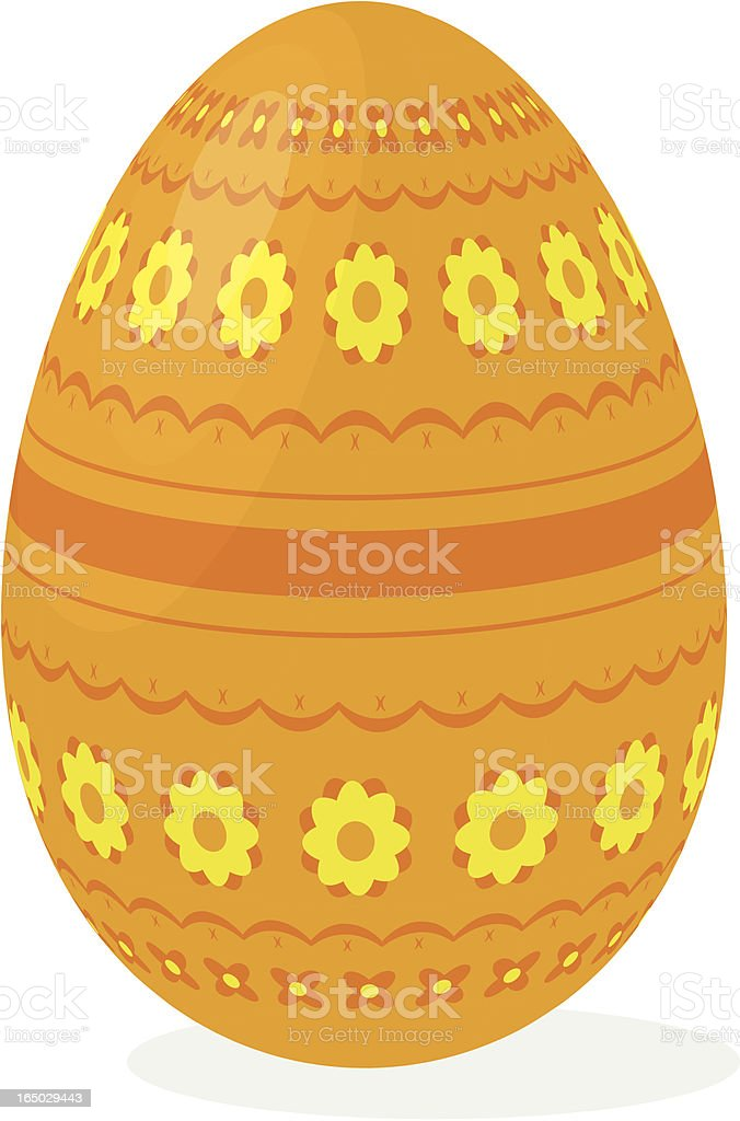 Easter egg 02 royalty-free stock vector art