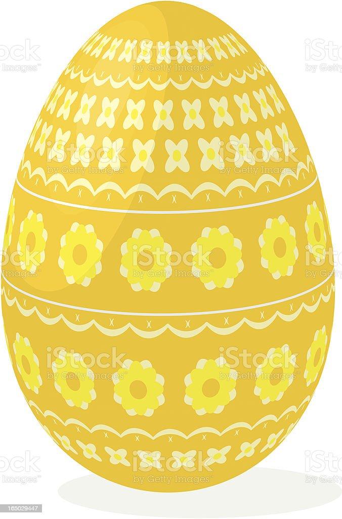 easter egg 04 royalty-free stock vector art