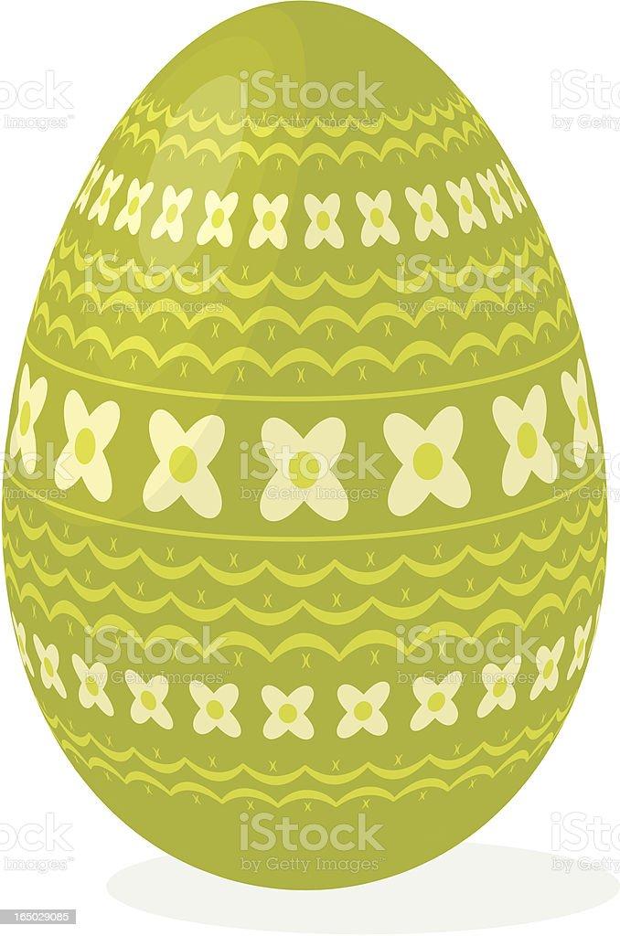 Easter egg 05 royalty-free stock vector art