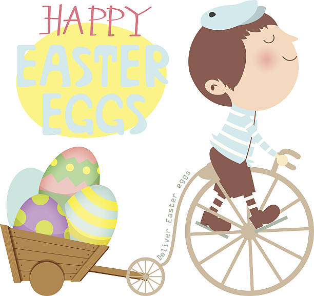 60 Easter Egg Delivery Illustrations Royalty Free Vector Graphics Clip Art Istock