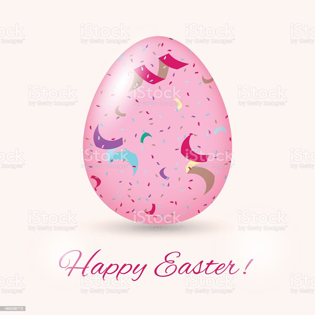 Easter Egg card. Vector illustration royalty-free easter egg card vector illustration stock vector art & more images of abstract