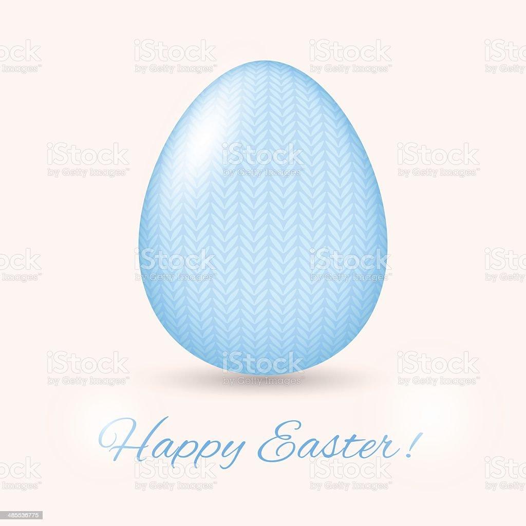 Easter Egg card. Vector illustration royalty-free stock vector art