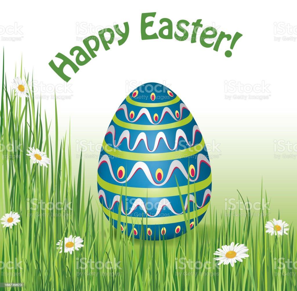 Easter egg design royalty-free stock vector art