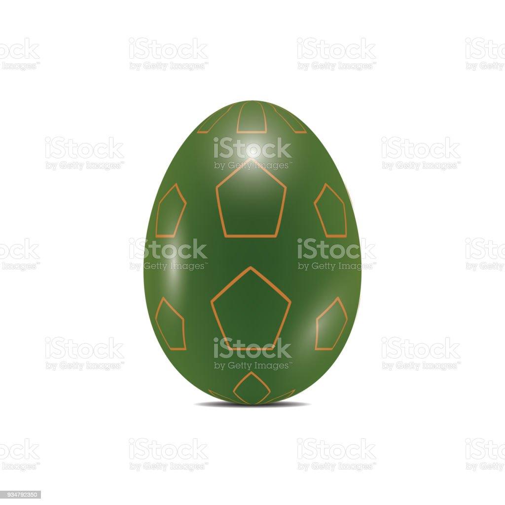 부활절 달걀 현실적인 색상 디자인 벡터 일러스트 레이 션 - 로열티 프리 건강한 생활방식 벡터 아트