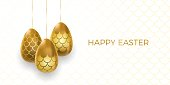 Easter egg with  mermaid scales vector illustration