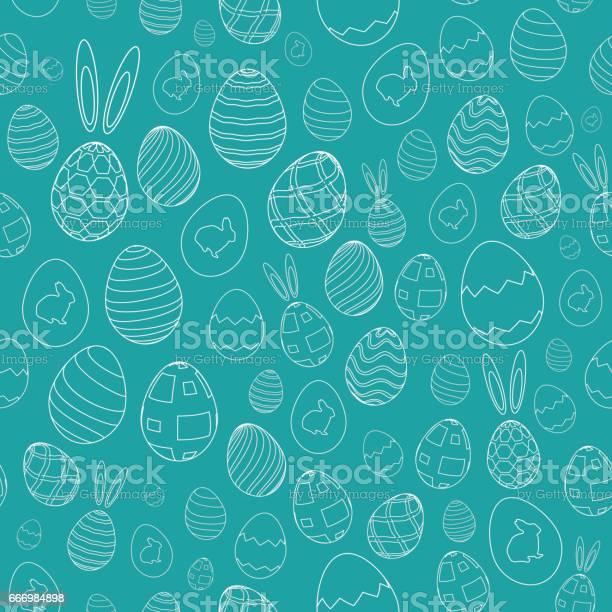 Easter eggs rabbit ears and bunny seamless pattern vector id666984898?b=1&k=6&m=666984898&s=612x612&h=bvnghgvaieiobtffe 8i7zqklabedgi pspqeplayo0=