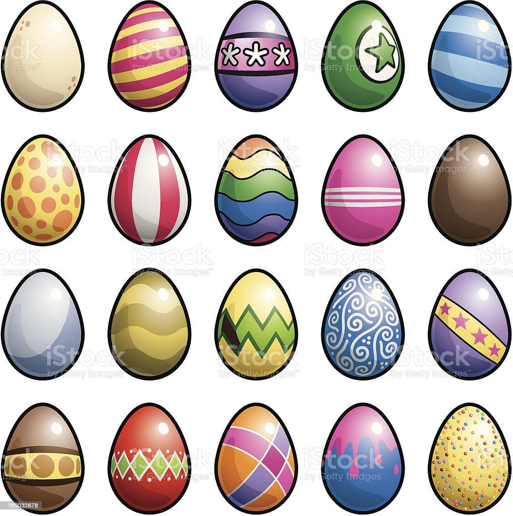 Easter Eggs royalty-free easter eggs stock vector art & more images of animal egg