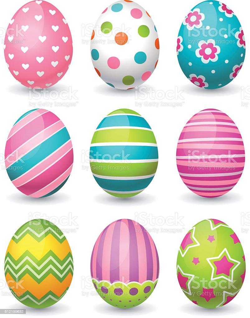 easter eggs stock vector art 512150632 istock