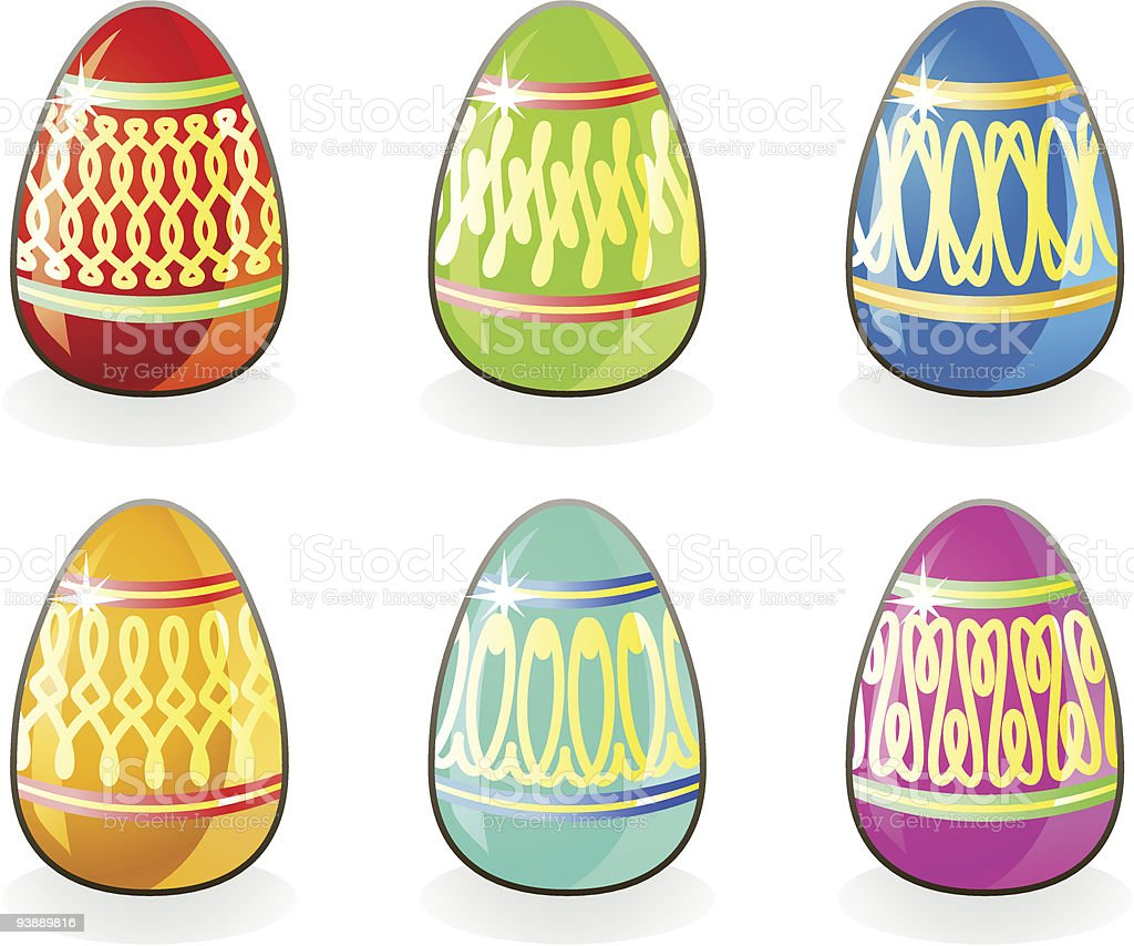 Easter eggs / vector royalty-free easter eggs vector stock vector art & more images of abstract