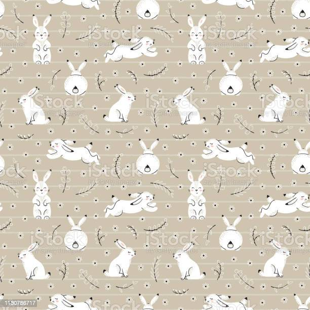 Easter floral seamless pattern with white bunnies spring or summer vector id1130786717?b=1&k=6&m=1130786717&s=612x612&h=sdw mcl7x9oqbhuehqxk81qfjnsothfayqey0i3xwcq=