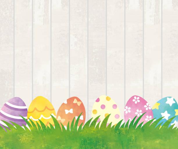 Easter garden Easter garden easter stock illustrations