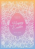 Easter greeting card - Illustration