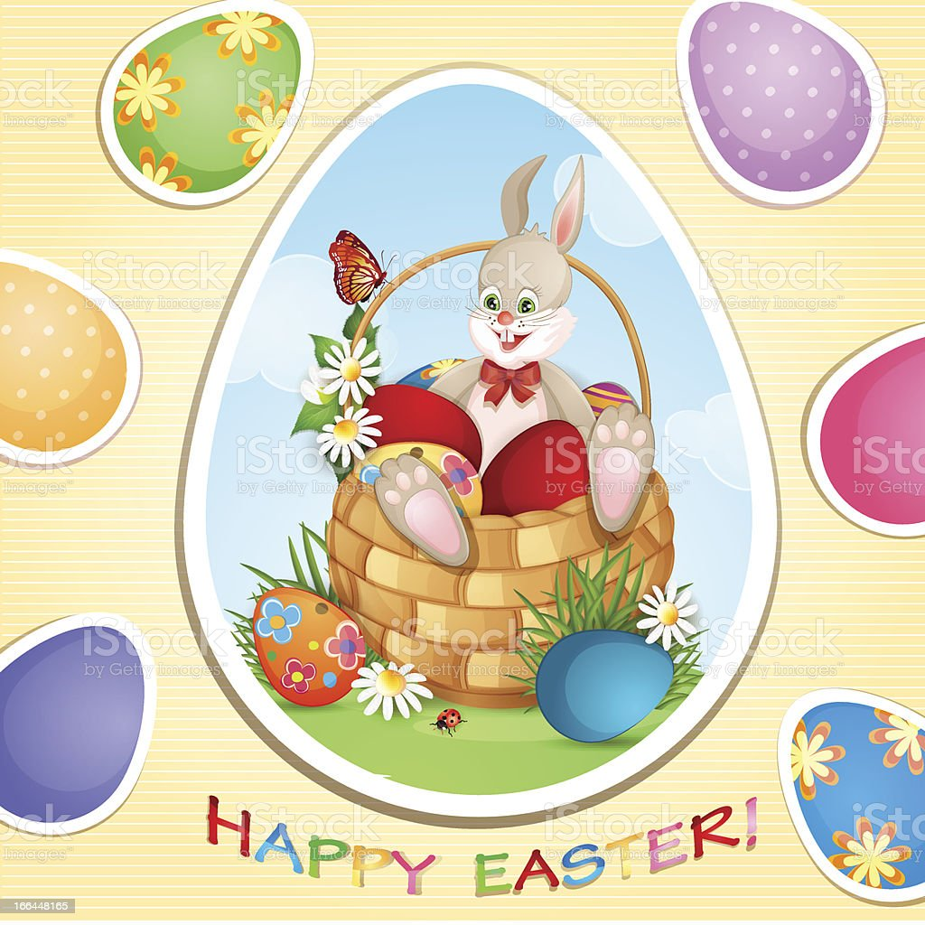 Easter greeting card royalty-free easter greeting card stock vector art & more images of backgrounds