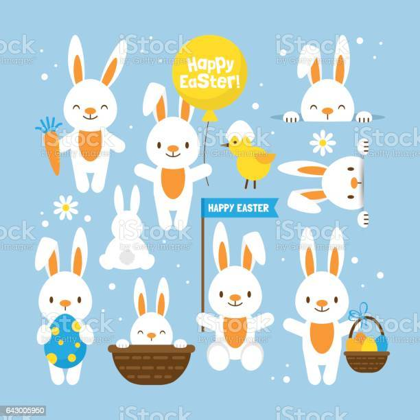 Easter holiday concept with cute bunny set for design vector id643005950?b=1&k=6&m=643005950&s=612x612&h=5ul894iekj8apeqmvfphfhddkhht80cfj7fsckbrqls=