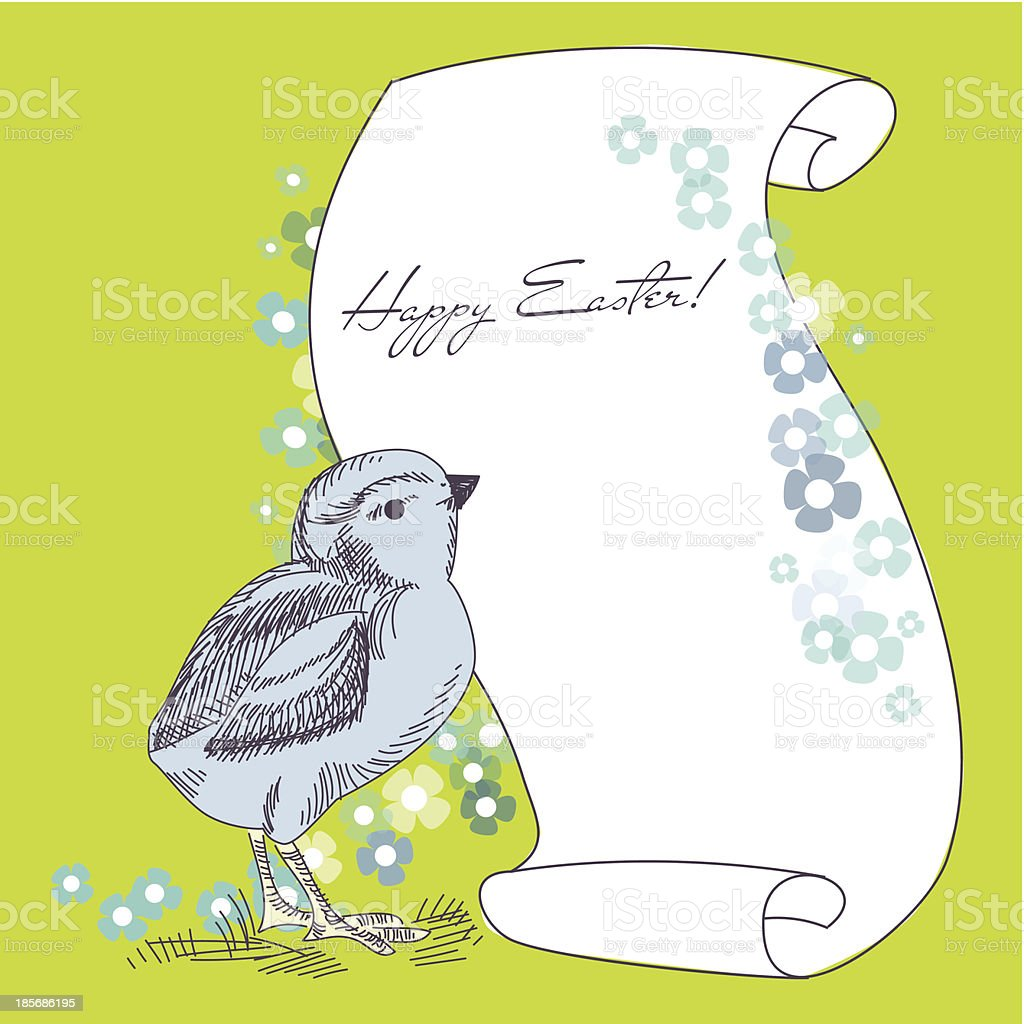 Easter Holiday Illustration royalty-free easter holiday illustration stock vector art & more images of bird