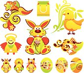 Easter holiday items