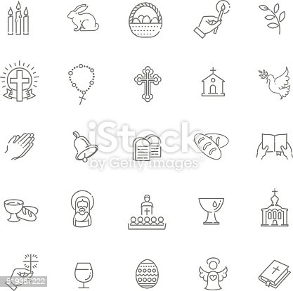 outline vector icons