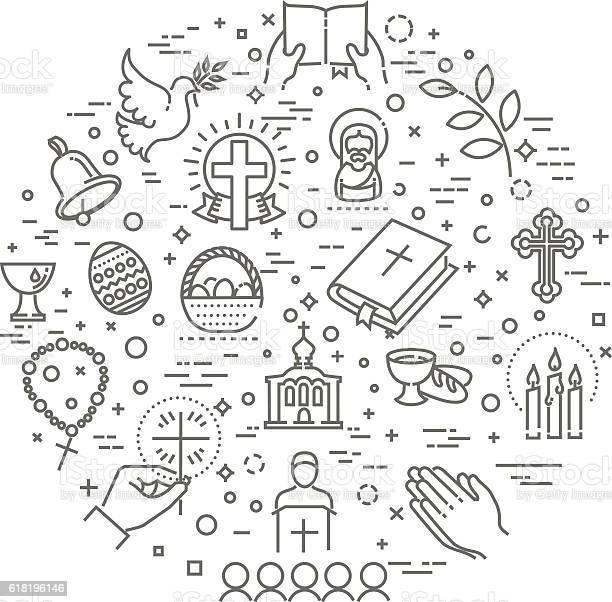 Easter icons set christianity vector id618196146?b=1&k=6&m=618196146&s=612x612&h=irrbp3 ebhbe1k82rl16yud76j0m xfyeeunwswd4le=