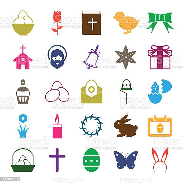 Easter icons set vector id514367428?b=1&k=6&m=514367428&s=612x612&h=oc8texn7kmddtx4rw0uflmmi7jbe5nbcmrzes0fhv0w=