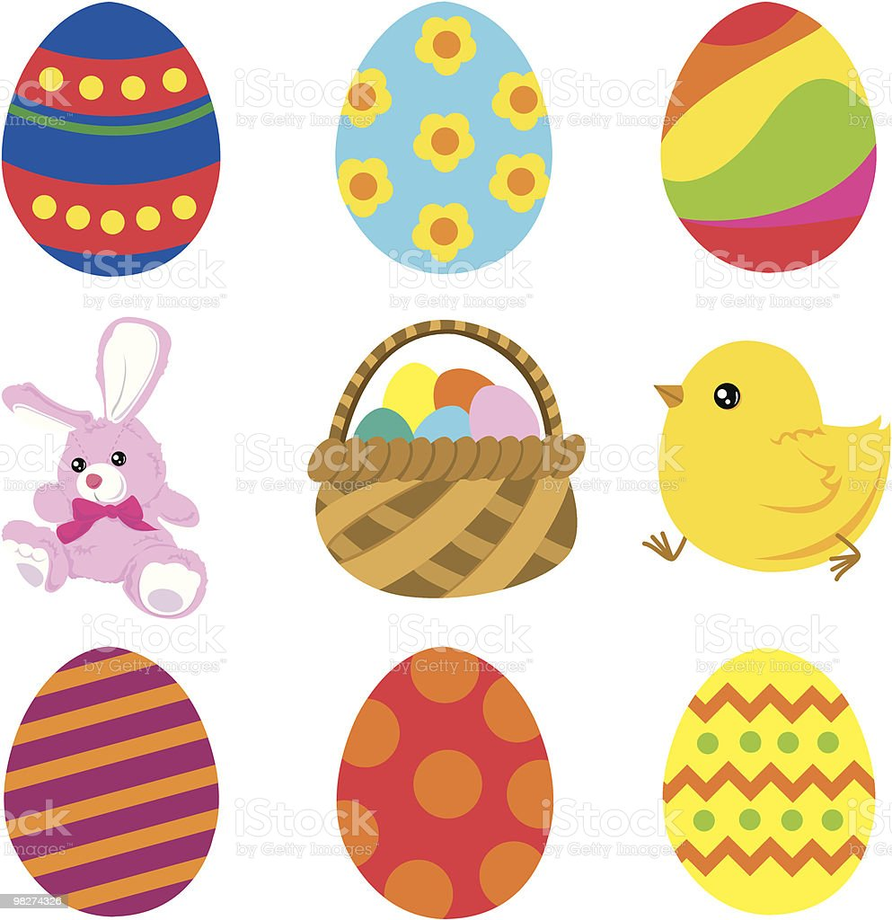 Easter Icons royalty-free easter icons stock vector art & more images of animal