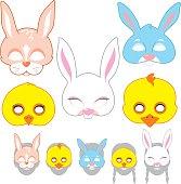 Easter Mask Making Set
