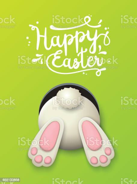 Easter motive bunny bottom on green background illustration vector id655133858?b=1&k=6&m=655133858&s=612x612&h=tnxg0vlnrcagotyz44ioserorfzjdw4uvt prcq179m=
