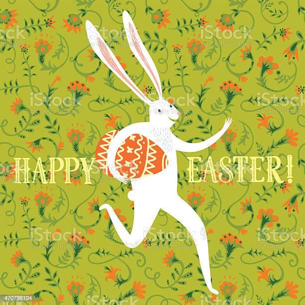 Easter rabbit illustration vector id470736104?b=1&k=6&m=470736104&s=612x612&h=atorosbaemanyrjyxv4j1x6zjvokrrgwkxxxcvsw3s4=