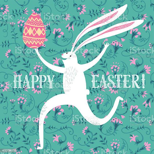Easter rabbit illustration vector id470736110?b=1&k=6&m=470736110&s=612x612&h=r2i67eqaiw8bxr9gub bxly2oc1r2ny0xnafu6hx6q0=