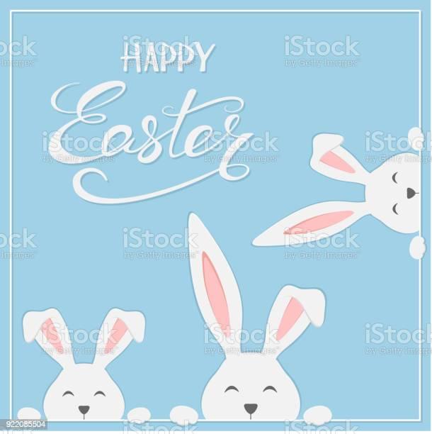 Easter rabbits on blue background vector id922085504?b=1&k=6&m=922085504&s=612x612&h=bmimiwjohvqlre a6xkyj4hnduikdxfkdpvtrd4akhi=