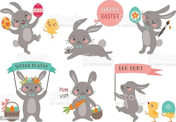 Easter rabbits vector id508629260?b=1&k=6&m=508629260&s=612x612&h=frgbjsx67oiuecf9brmuorsuu4jyidnsmw5sp83puru=