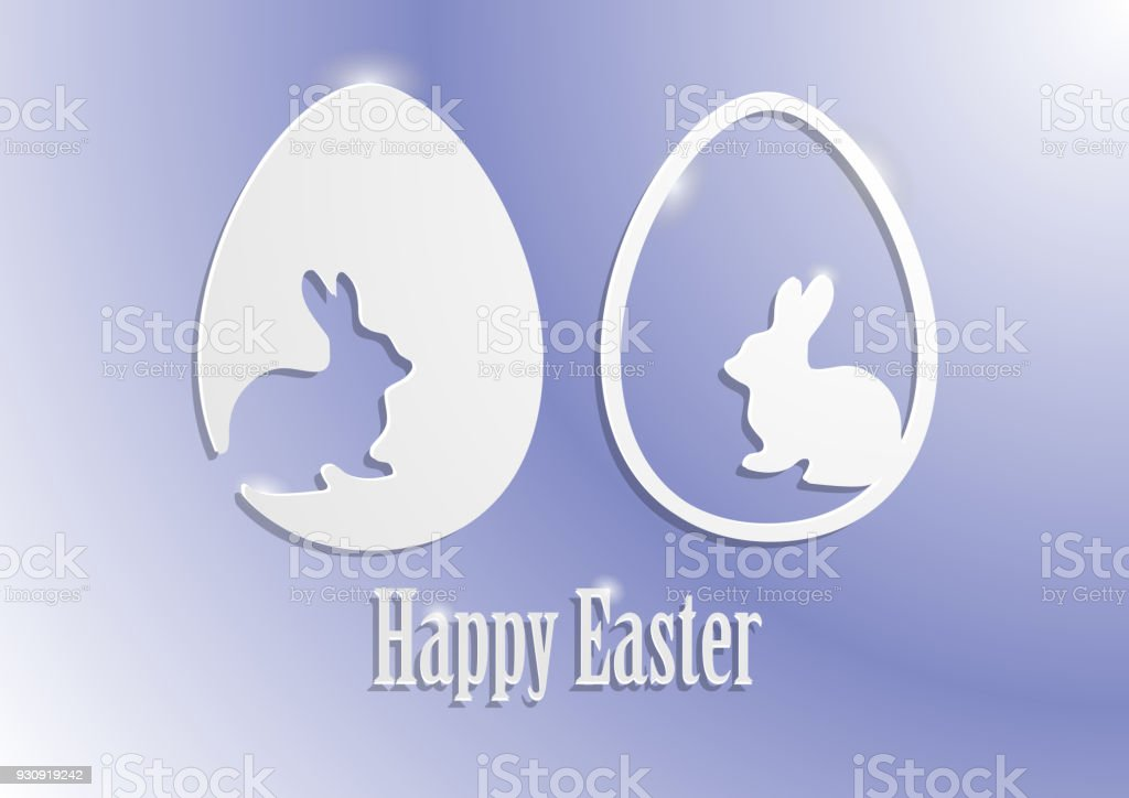Easter Sale Banner Template Background With Beautiful Calligraphy