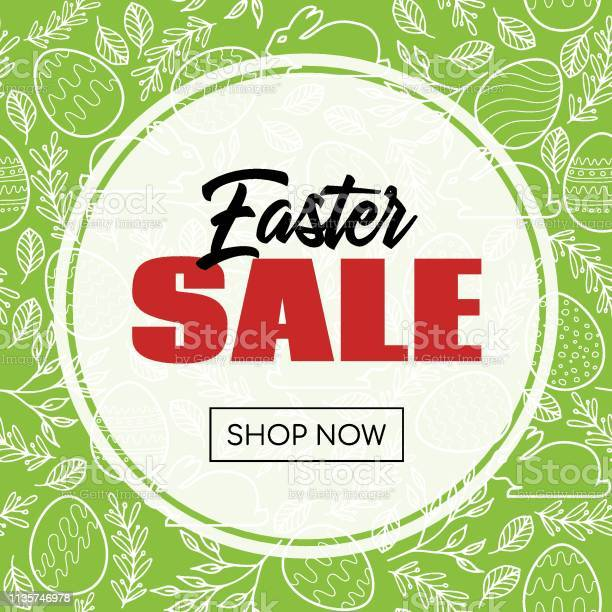 Easter sale banner vector template with frame and easter pattern vector id1135746978?b=1&k=6&m=1135746978&s=612x612&h=2lvqswo u7jxfph opbszhp  o86otnsxuurt7m4a s=