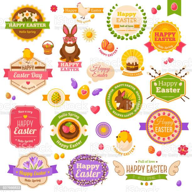 Easter scrapbook set labels ribbons and other elements vector id537666833?b=1&k=6&m=537666833&s=612x612&h=jrnh1qu49oisscdp93xn89bxwq7b76xrhsdaacnnkzs=