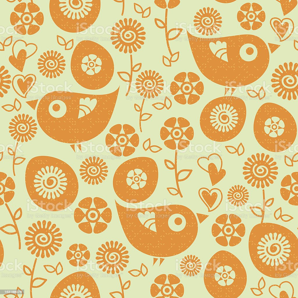 Easter seamless pattern royalty-free stock vector art