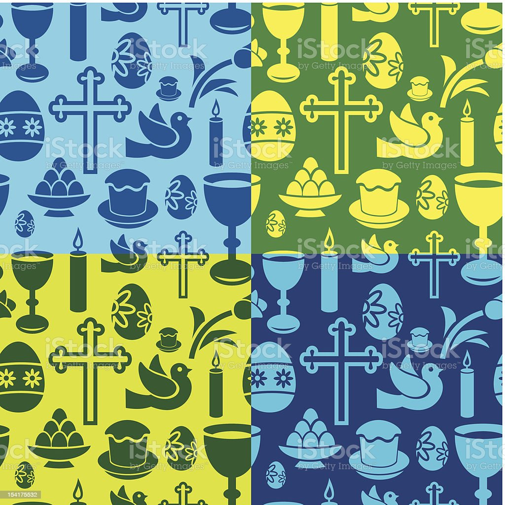 easter seamless pattern royalty-free easter seamless pattern stock vector art & more images of animal markings