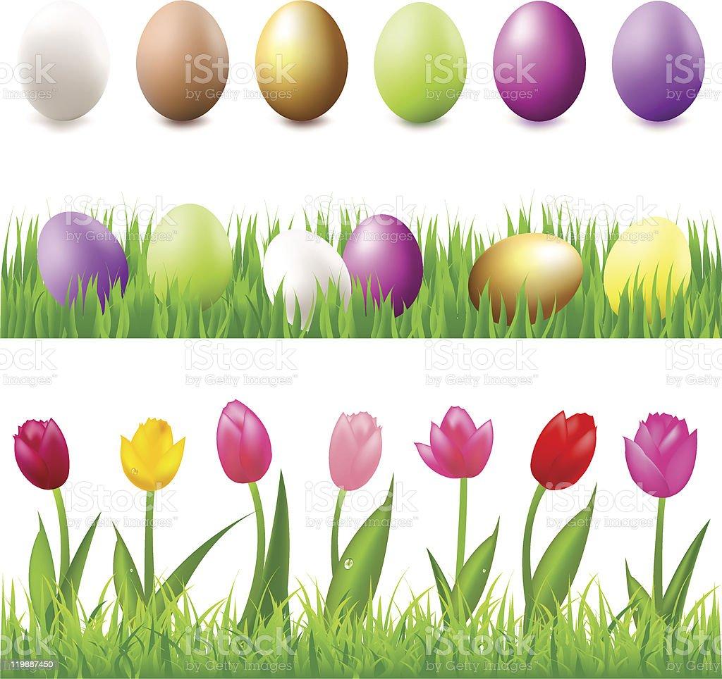 Easter Set royalty-free easter set stock vector art & more images of animal egg