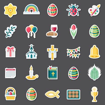 Easter Sticker Set