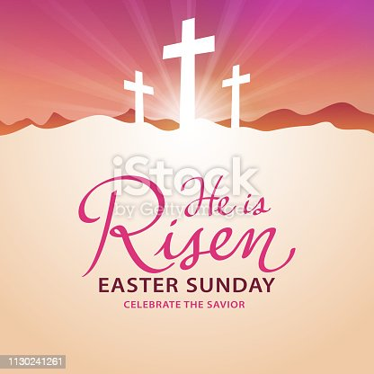 To celebrate the resurrection from the dead of Jesus on Easter Sunday