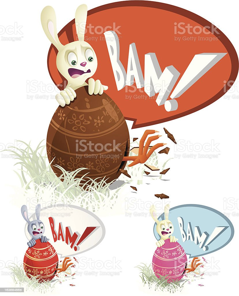 Easter Surprise royalty-free easter surprise stock vector art & more images of boiled egg