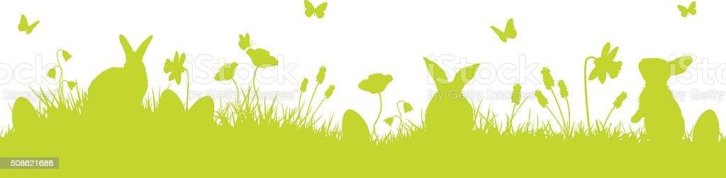 Fond de vecteur de Pâques - Illustration vectorielle