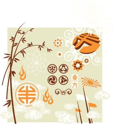 eastern touch (design elements)