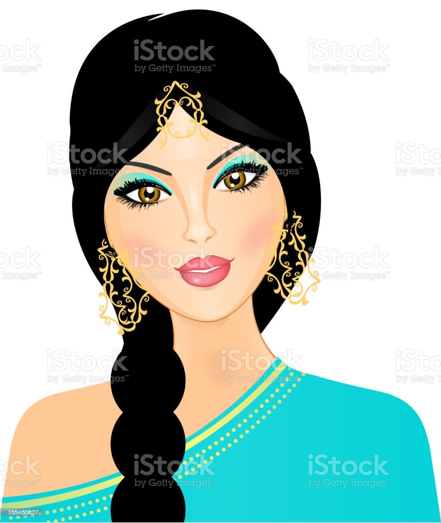 Eastern woman royalty-free eastern woman stock vector art & more images of adult