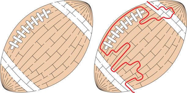Labirinto de bola fácil - ilustração de arte em vetor