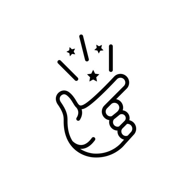 Easy simple Icon for easy, simple, effortless, straightforward, ingenious, unpretentious smooth stock illustrations