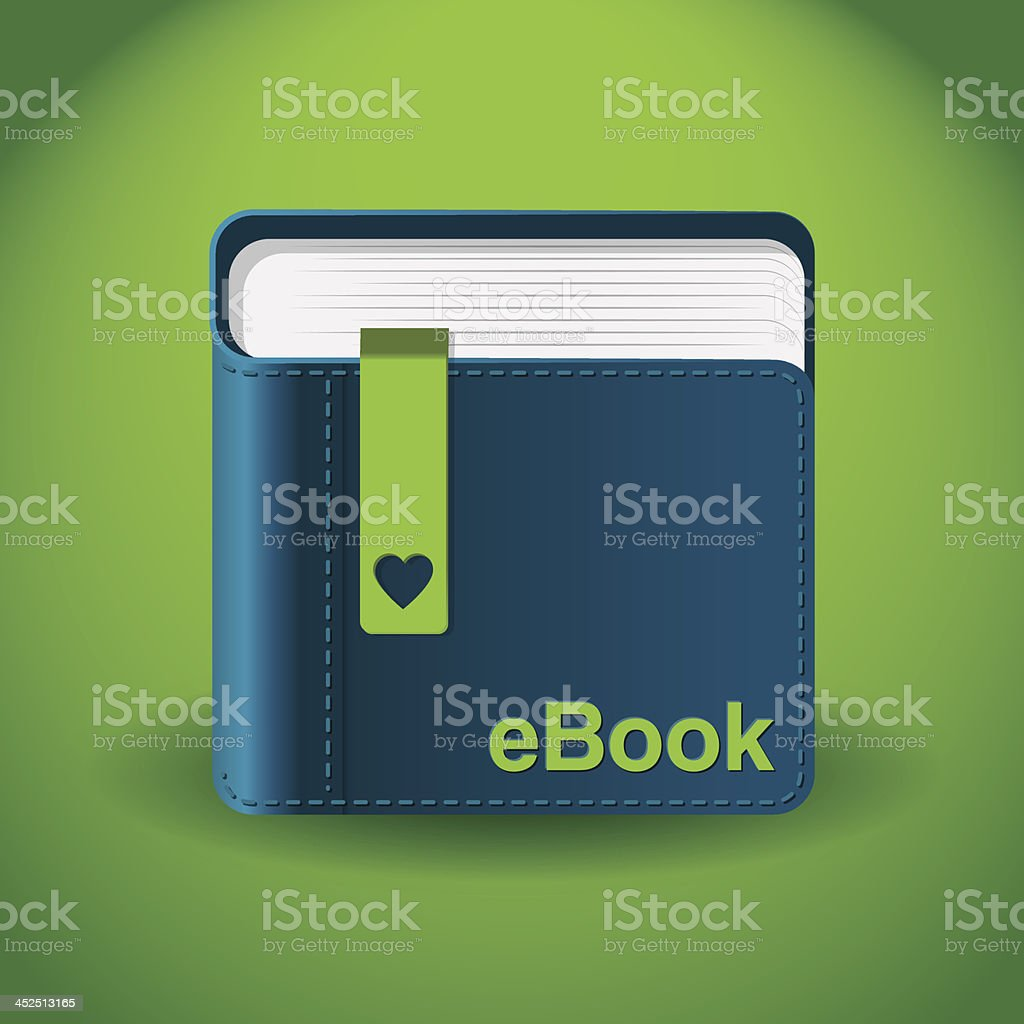 Ebook App Icon Stock Vector Art More Images Of Advice Istock
