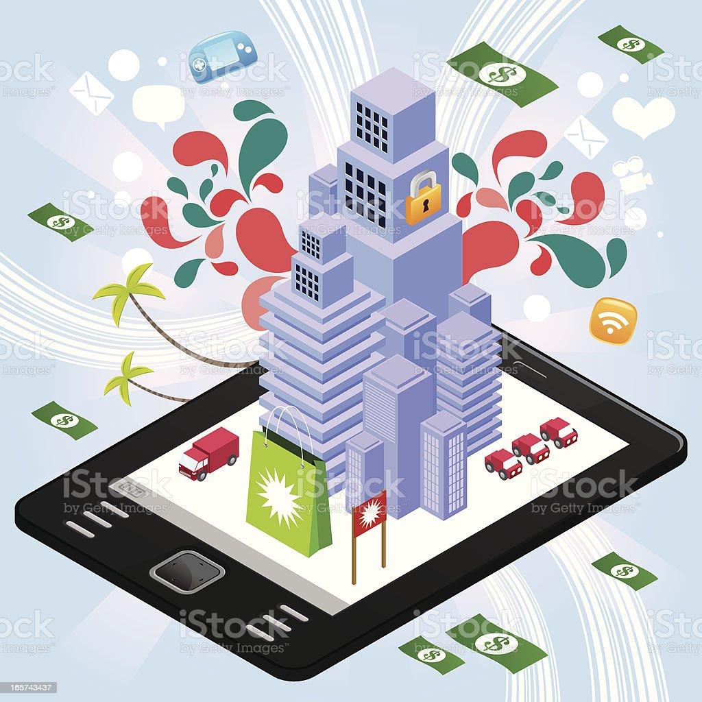 Ebook reader huge skyscraper royalty-free ebook reader huge skyscraper stock vector art & more images of advertisement